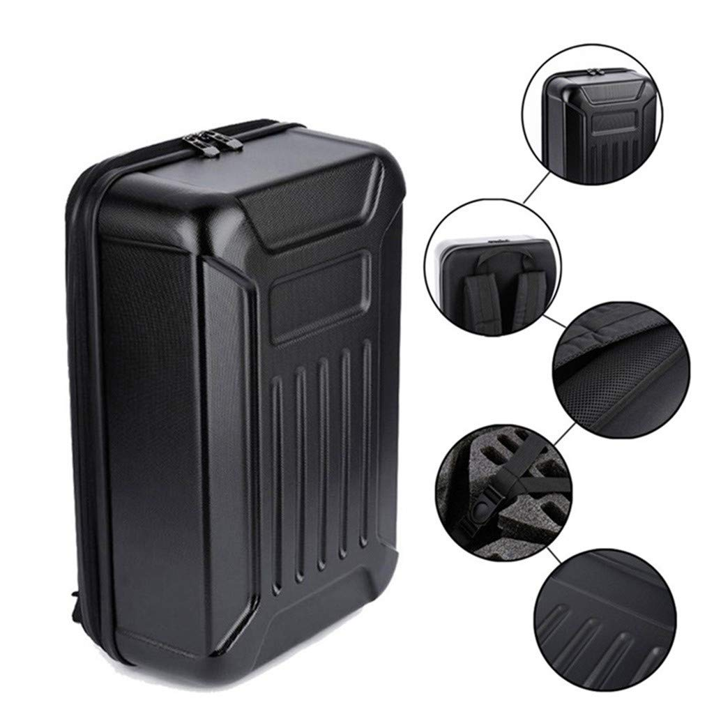 DDLmax Black ABS Hard Shell Backpack Case Bag for Hubsan H501S Quadcopter by DDLmax (Image #1)