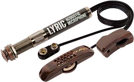 L.R. Baggs Lyric - Micrófono para guitarra acústica: Amazon.es: Instrumentos musicales