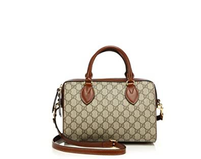 58b3df75d8b5 (グッチ) Gucci GG Supreme Top Handle Bag GG 最高トップ ハンドル バッグ (並行
