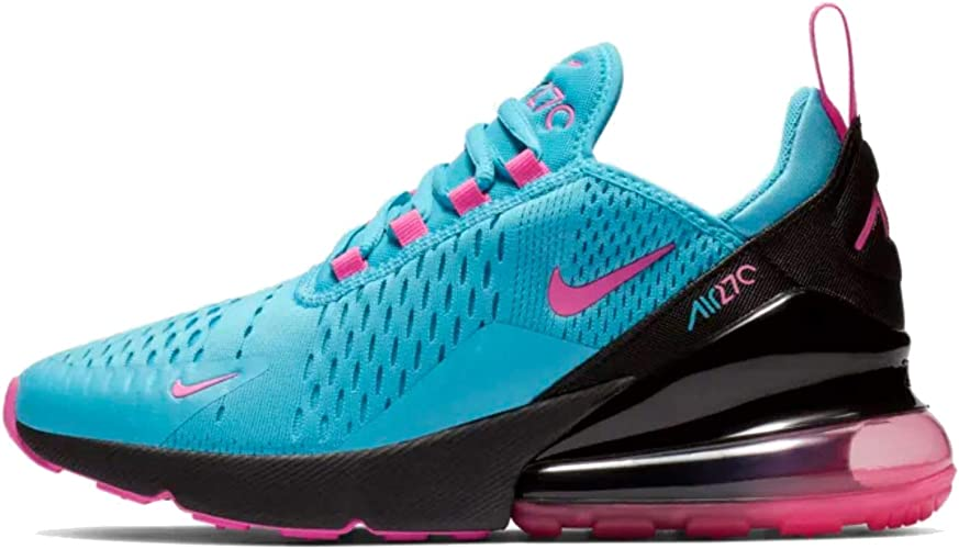 Amazon.com: Nike Air Max 270 Kids Big Kids Bv6376-400 Size 6 ...