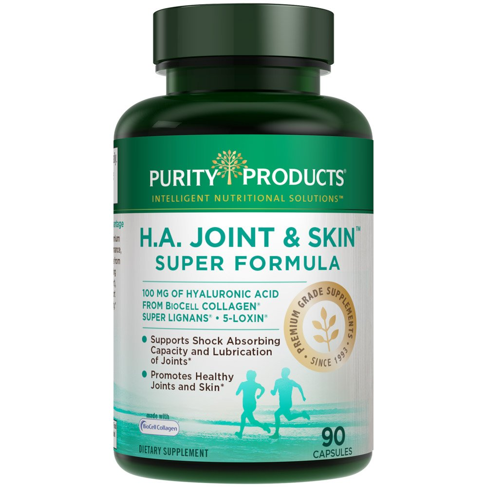 H.A. Joint and Skin Super Formula (90 capsules), from Purity Products
