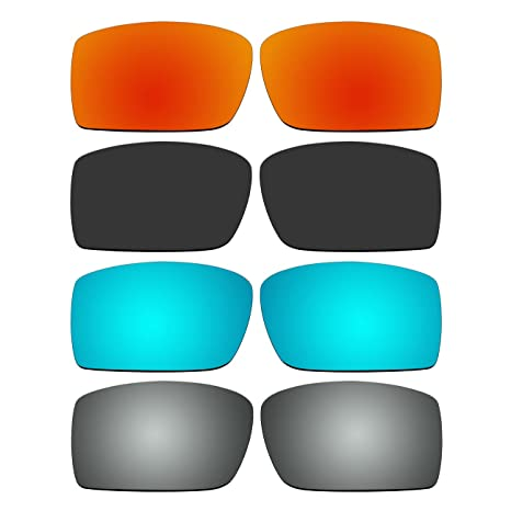 5f5f128850 Image Unavailable. Image not available for. Color  4 Pair Replacement Lenses  for Oakley Gascan ...