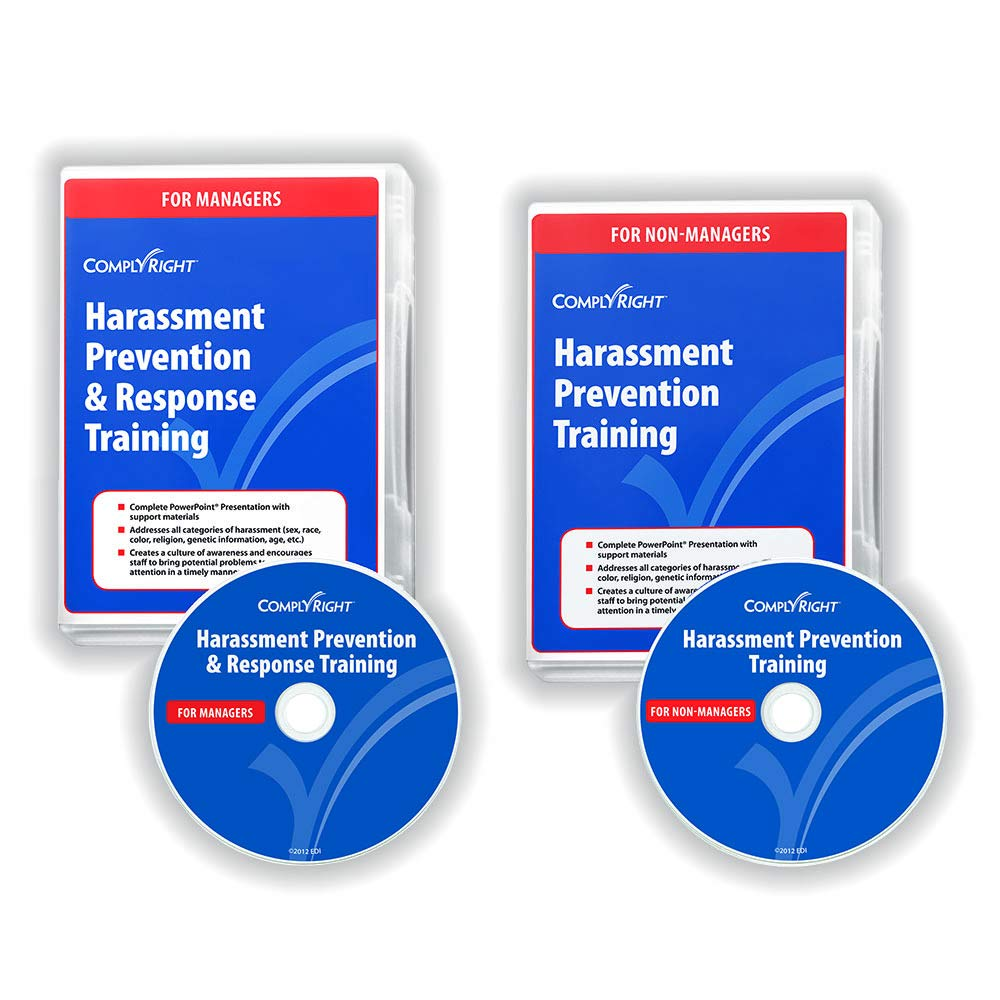 ComplyRight Harassment Prevention Training Program, DVD, Manager and Employee Versions by ComplyRight