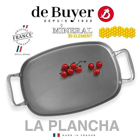 De Buyer – Sartén Mineral B – Barbacoa la plancha 38 x ...