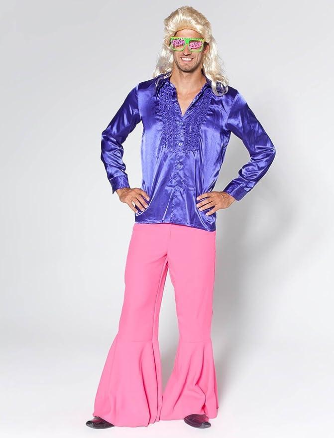 De los hombres traje de pantalones de impacto Pink, 60 - 50 ...