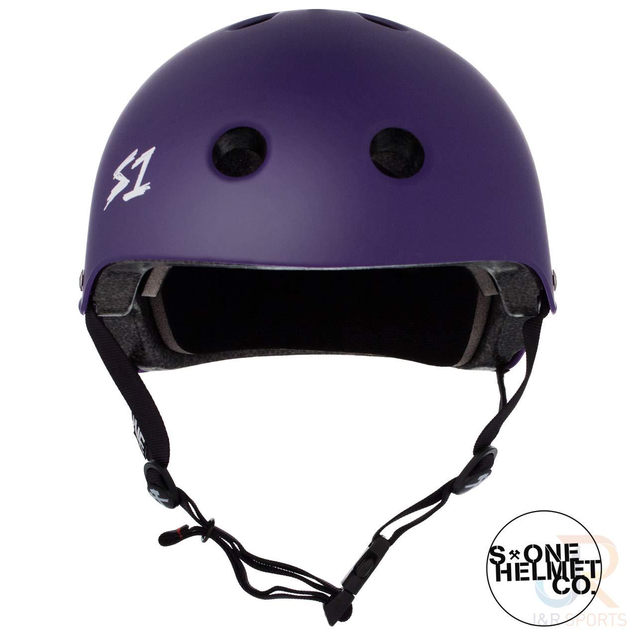 Matt Purple S1 Lifer Helmet