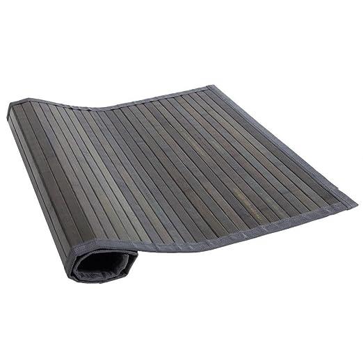 Amazon De Creations Meng Bambus Teppich Grau Ref 13200