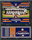 "Houston Astros 2017 World Series Photo Plaque (Size: 12"" x 15"")"