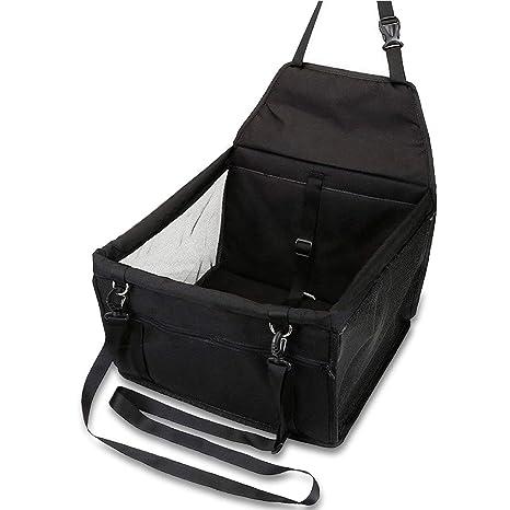 OUTLETISSIMO® - Transportín Negro para Perros y Gatos, Coche Box y ...