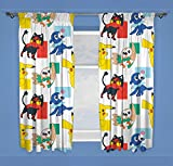 Pokemon Dash | Childrens Bedroom 54 Inch Curtains | Perfect Any Kids Bedroom