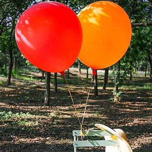 Ballon de Latex g/éant pour f/ête Anniversaire Anniversaire Mariage D/écorations d/év/énements 36 Pouces Ballons Orange GuassLee Paquet de 5 Ballons