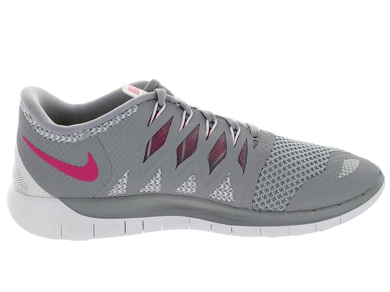 Amazon.com | Nike Women's Free 5.0 Wolf Grey/Vivid Pink/White Running Shoe  11 Women US | Running