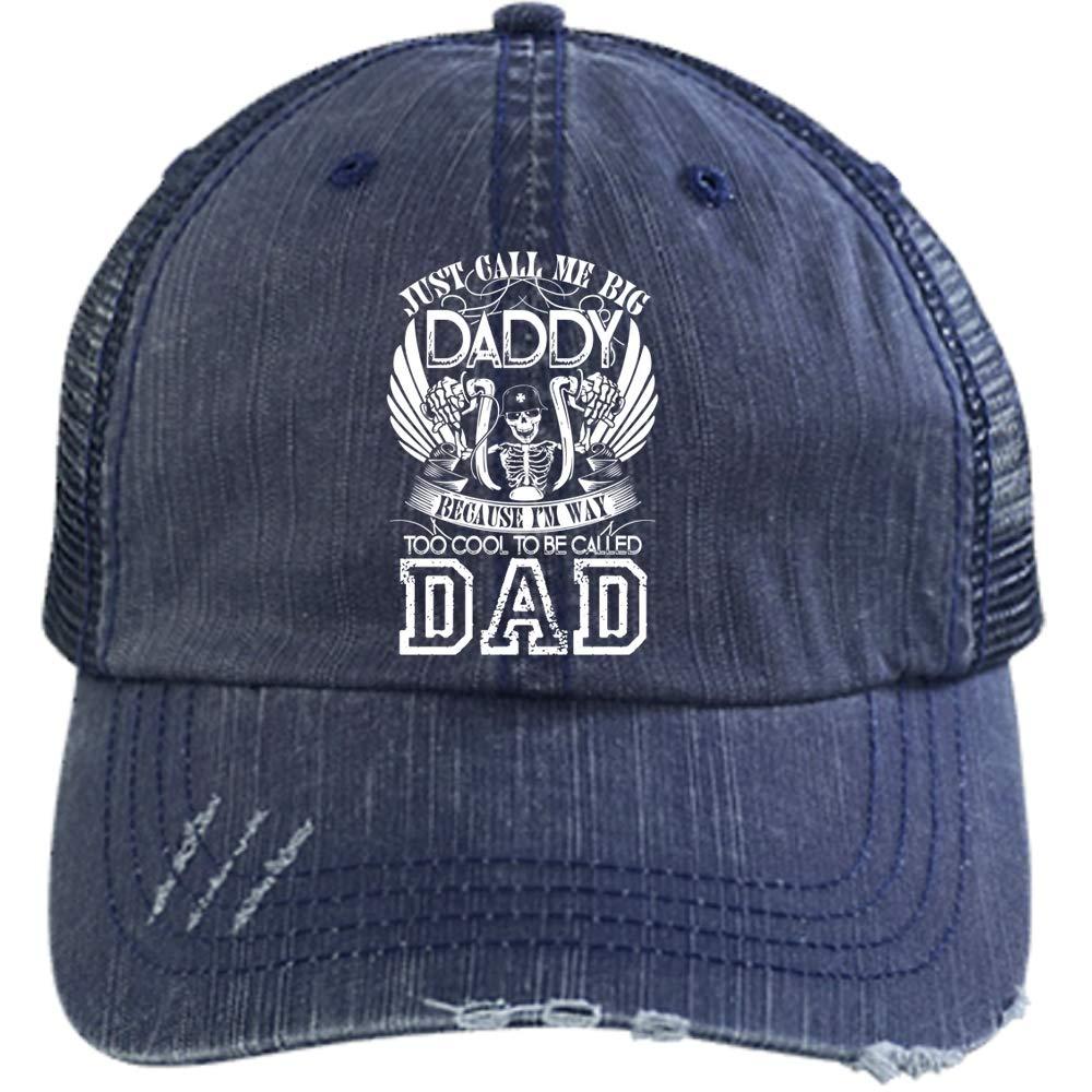 I M A Biker Hat Just Call Me Big Daddy Trucker Cap Trucker