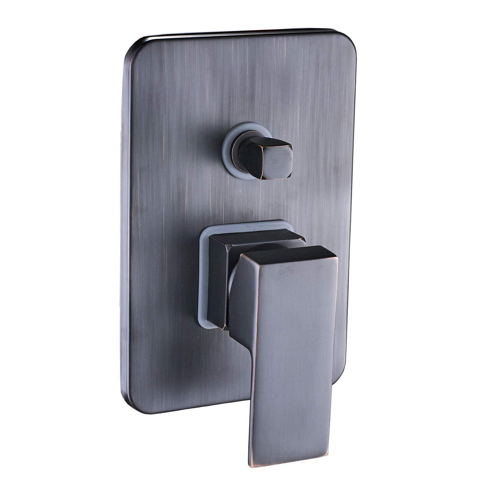 Rozin 2-way Control Shower Mixer Valve Oil Rubbed Bronze