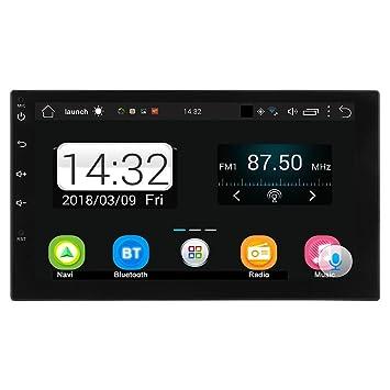 """Radio estéreo de coche Tuankayuk Quad Core, Android 7.1, WiFi, GPS, 7"""""""