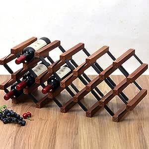 Amazon.com: HMMSP Wine Racks Bar Wine Rack Decoration ...