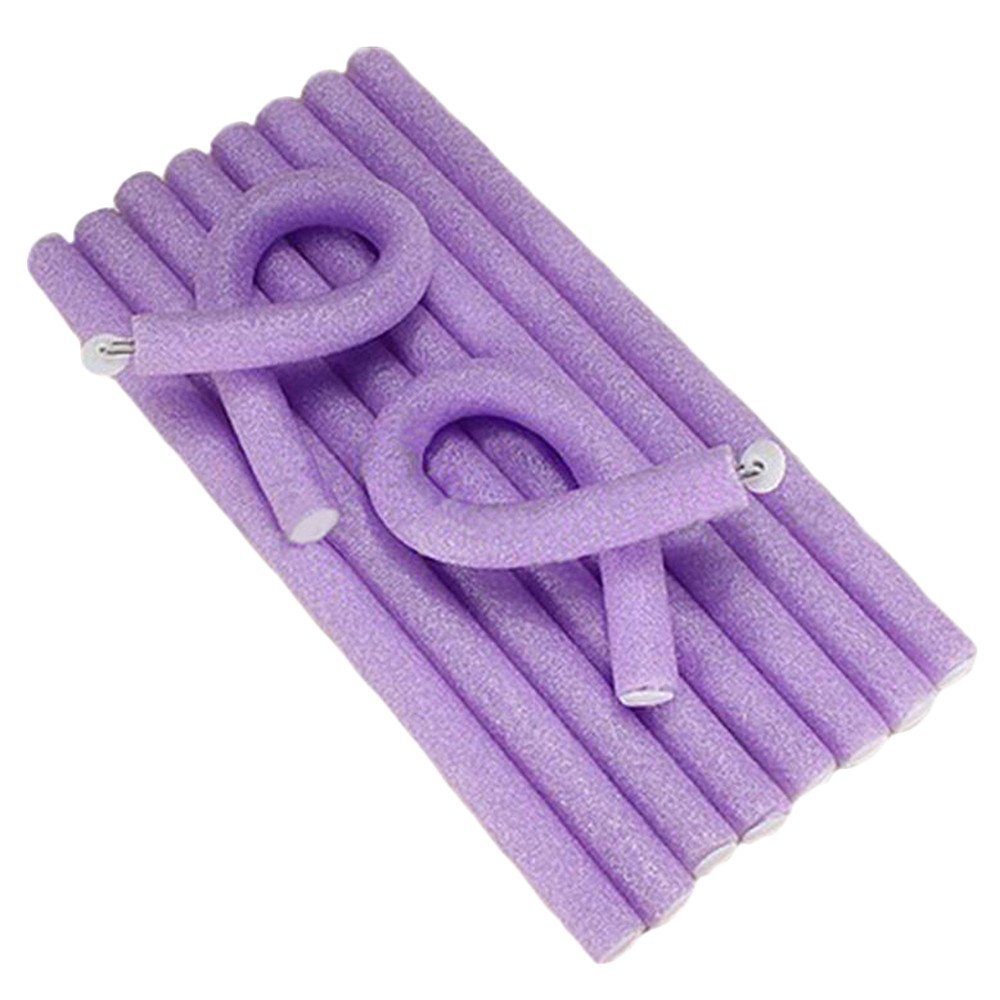 Merssavo 10Pcs Curler Soft Foam Bendy Twist Curls Tool DIY Styling Hair Rollers
