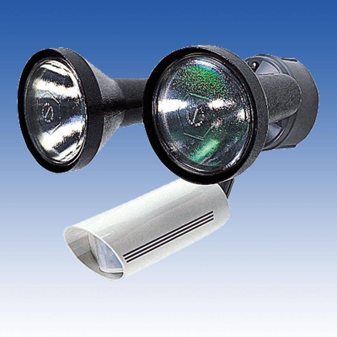 人感音感ライト LC-102W センサーライト 立体検知型15m用2灯用 TAKEX 竹中エンジニアリング B00KX1CPVI