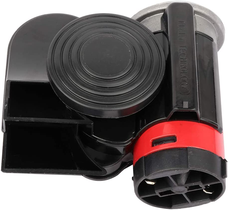 Aintier 12V 130db Air Horn for SUV Loud Snail Air Horn with Compressor for Trucks SUV Boats Train RV