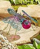 The Lakeside Collection Solar Garden Bugs- Butterfly