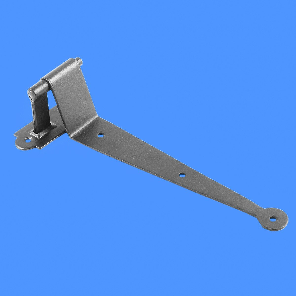 Renovators Supply Black Iron Offset Shutter Strap Pintle Hinge 11 3//4