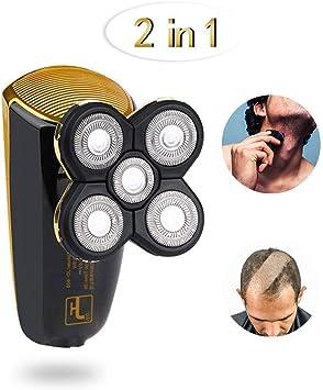 Rasuradora hombre Máquina de afeitar del corte de pelo Calvo ...