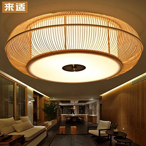 Kreative Japanischen Tatami Koreanische Bambus Lampe Beleuchtung Wohnzimmer Esszimmer Schlafzimmer Aus Holz Deckenleuchten Led Lampen 460mm 120mm