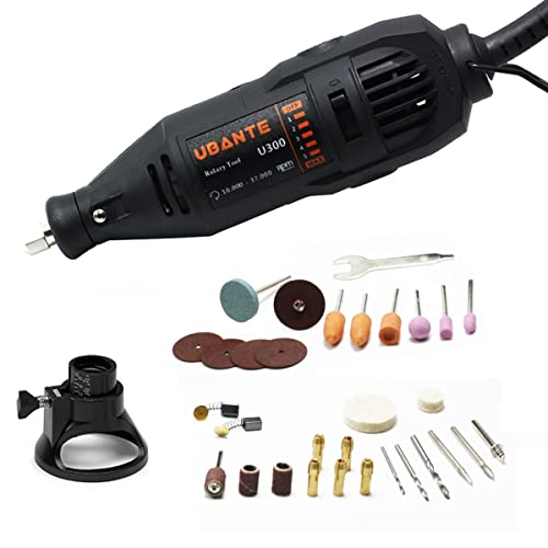 Best Rotary Tool Under $50 - UBANTE U300 Variable Speed Rotary Tool Kit