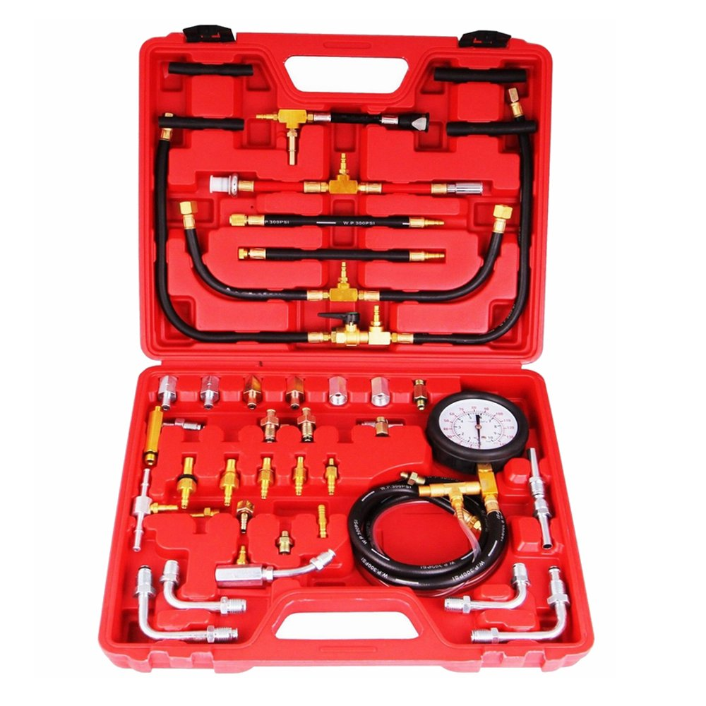 LARS360 manometro carburante impostata 0-10 bar per l'attrezzo pressione del carburante / automobile compressione tester dell'automobile calibro