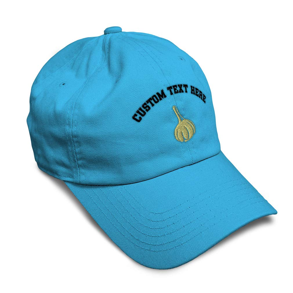 Custom Soft Baseball Cap Garlic Cloves Style B Embroidery Twill Cotton