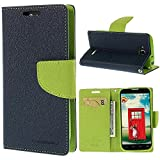 CHL Mercury Fancy Wallet Dairy Flip Case Cover for Micromax Bolt Q335