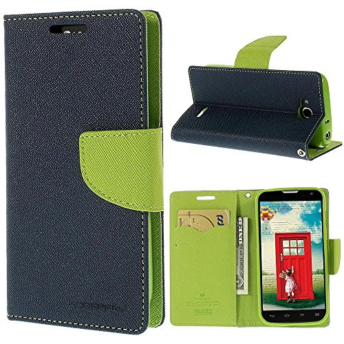 CHL Mercury Fancy Wallet Dairy Flip Case Cover forMicromax Canvas Nitro A311