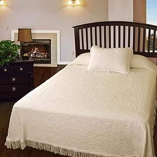 product image for Queen Elizabeth Matelasse Bedspread - Full - Antique