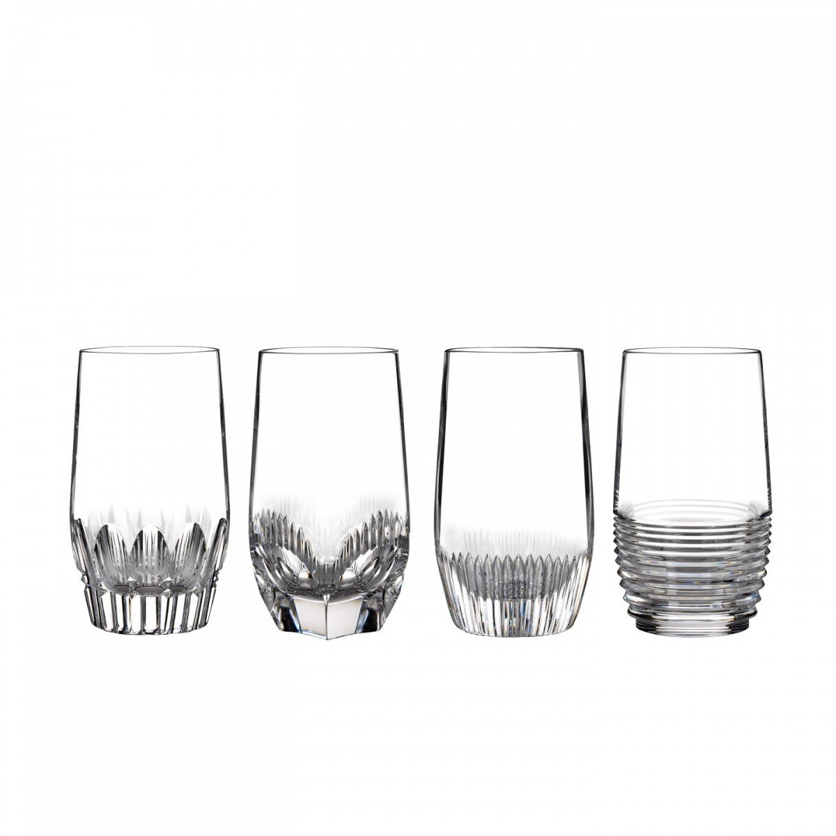 Clear Hiball, Set of 4