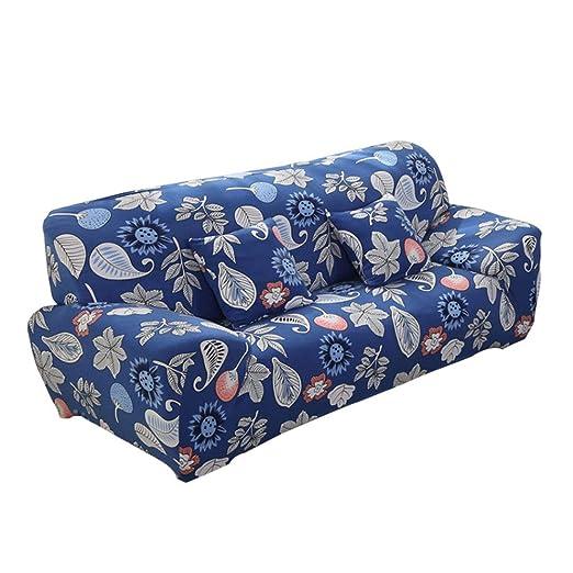 Funda de Sofá 4 Plazas,Fabricado del Tejido de Punto Protector para Sofás Muebles Contra Mascotas Cubierta Decorativas para Sofás Sillones,Desmontable ...