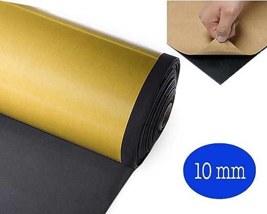 Grosor de 10 mm Grosor de 10 mm Placa de neopreno adhesiva. 50 x 50 cm L/ámina de neopreno adhesiva Piedras fabricadas con goma expandida Foll Nep/®