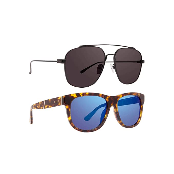 Amazon.com: DIFF Eyewear - Atlas - Gafas de sol de diseño de ...