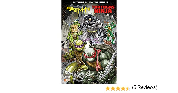 Batman/Tortugas ninja: Amazon.es: James Tynion IV, Freddie ...