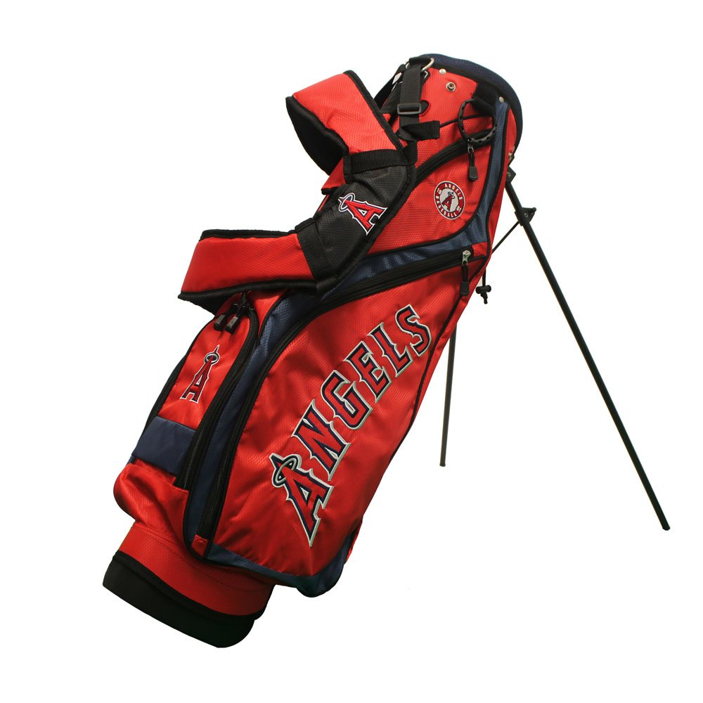 Team Golf 96227 Los Angeles Angels MLB Nassau Golf Stand Bag