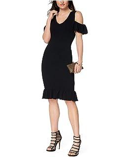 e9b6d881f XOXO Juniors' Tropical-Print Crossover Sheath Dress at Amazon ...