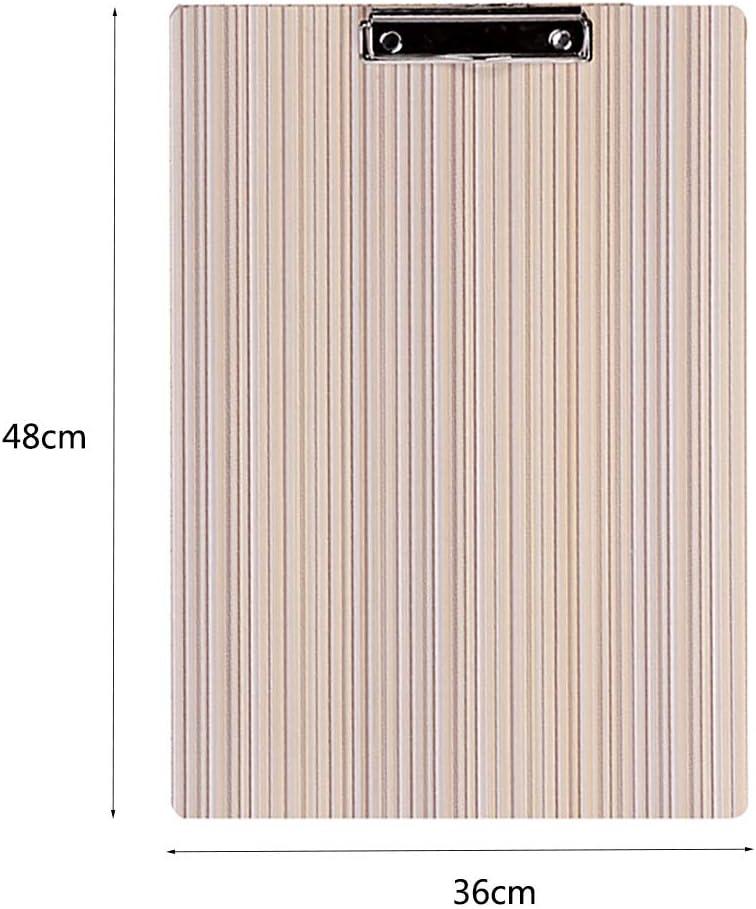 JI BIN-HJ 8K-Skizzenbrett A3-Skizzenzeichenbrett Mit Clip//Holz Skizzenauflage 30x42cm