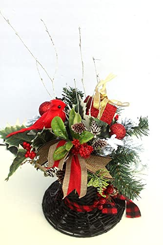 Christmas Table Arrangements Flowers.Top Hat Christmas Decor Centerpiece Snowman Hat Holiday Table Decor Christmas Arrangement Floral Arrangement Table Centerpiece