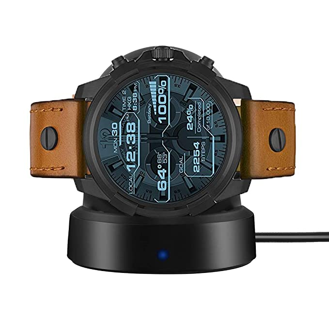 LvBu Ceston Cargador Charger para Diesel Herren Smartwatch DZT2002 ...