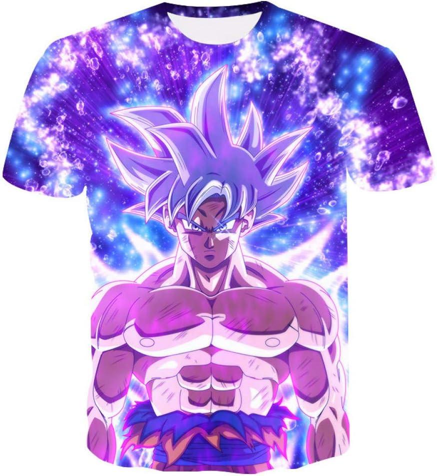 ZCYTIM Nuevas Camisas para Hombre Super Saiyan Ultra Instinct ...