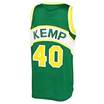 Adidas Swingman NBA Classic - Camiseta con Motivo de Shawn Kemp #40, Seattle Supersonics, Color Verde Verde Talla:Small: Amazon.es: Deportes y aire libre