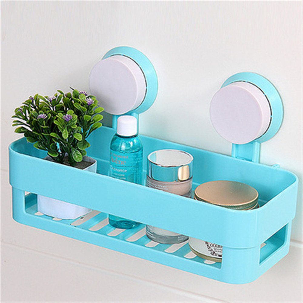 Amazon.com: UONLY Plastic Bathroom Shelf Kitchen Storage Box ...
