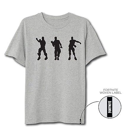 Fortnite Floss Dance - Camiseta, color gris, talla XL