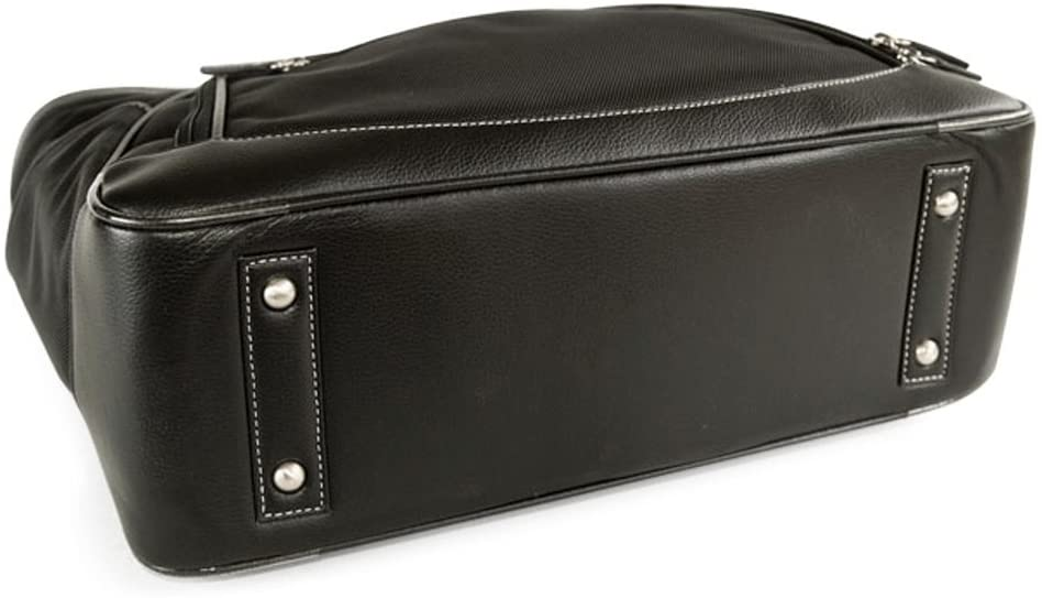 "Bordeaux Brown Clark /& Mayfield Sellwood Metro XL Laptop Tote 17.3/"""