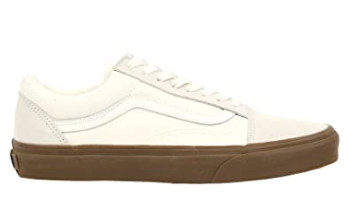 962c098affe4 Vans Old Skool (Suede Canvas) White Gum Canvas Shoe Mens 5.5 ...