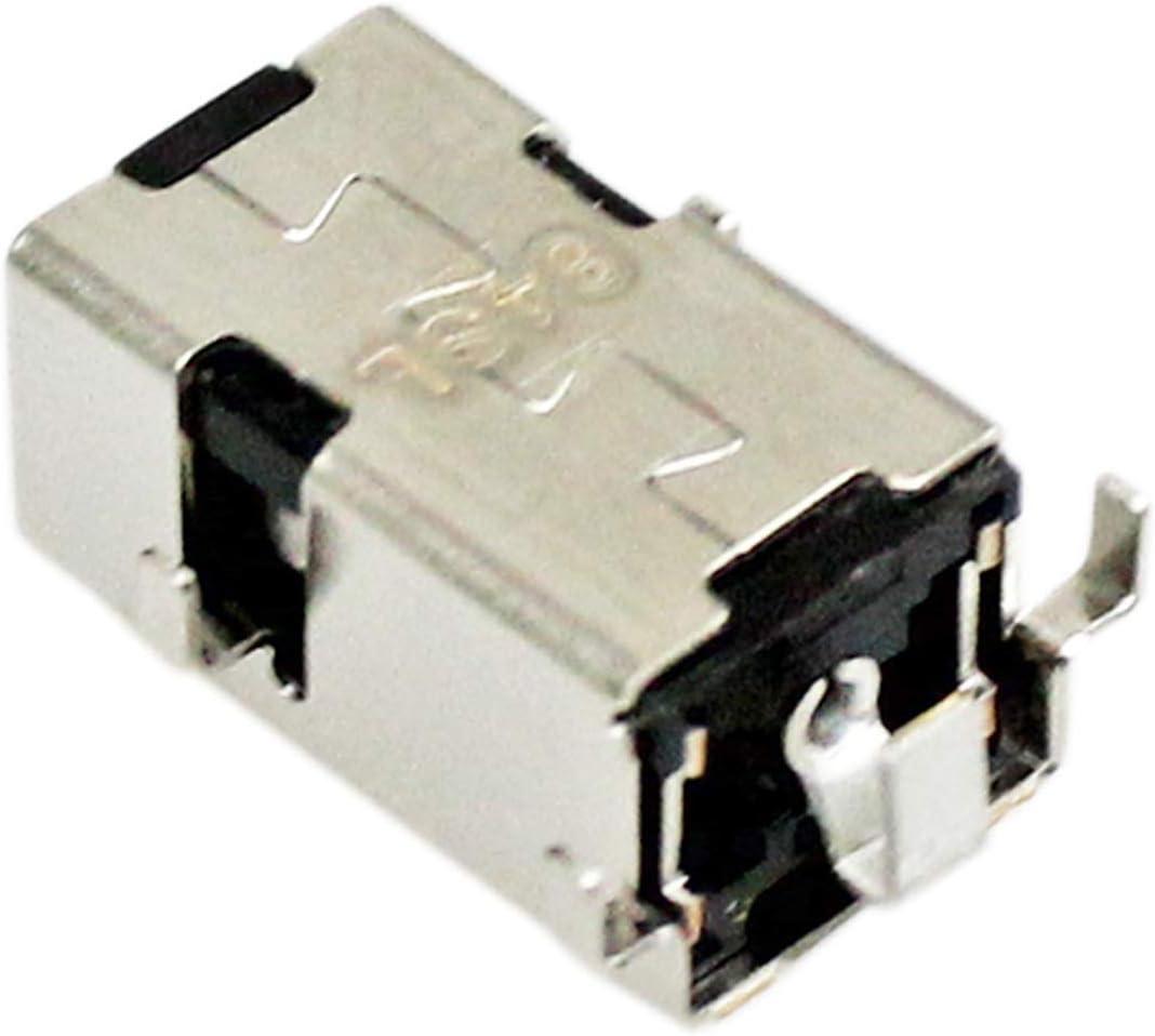 3pcs GinTai AC DC Power Jack Charging Port Socket Replacement for Lenovo Ideapad 100-14IBD 100-15IBD B50-50 5B20K85589 5B20K85613